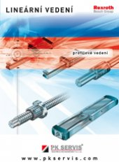 Catalogue of PK SERVIS linear guides – IN STOCK